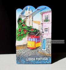 TOURIST SOUVENIR 3D TRAVEL FRIDGE MAGNET -- Lisbon , Portugal