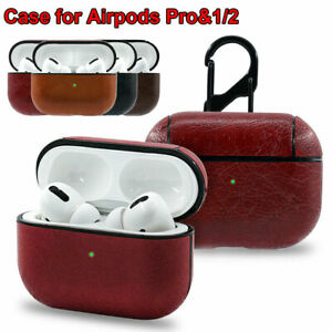 360 Full Protective Case For Apple Airpods Pro 2 1 Leather