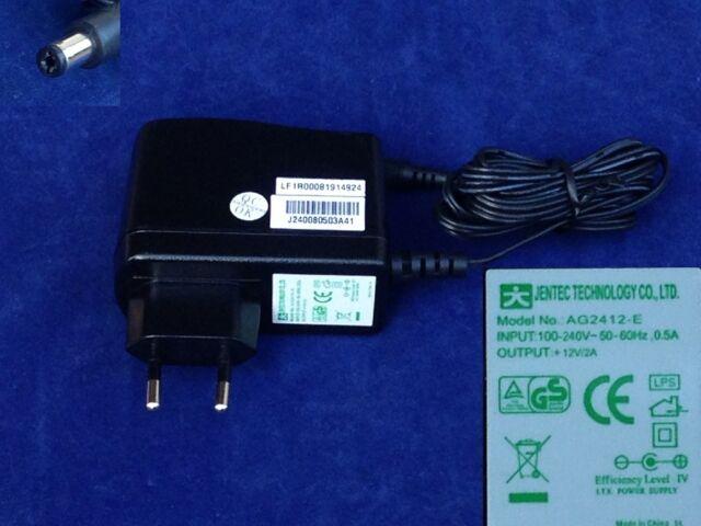Adapter Ladegerät Art PAG024F JENTEC AG2412-E 12V 2A 5mm/1.7mm