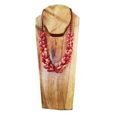 Mannequin Neck Bust Doll Wooden Stand Necklace Display Carved Jewelry Holder
