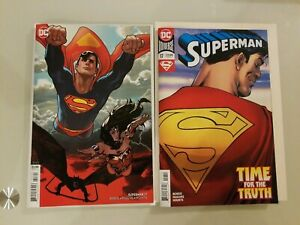 SUPERMAN #10 ADAM HUGHES VARIANT COMIC DC 2019 1st Print