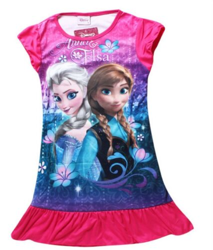 DISNEY FROZEN NIGHTDRESS/'// NIGHTGOWN//NIGHTIE Various Colours /& styles New