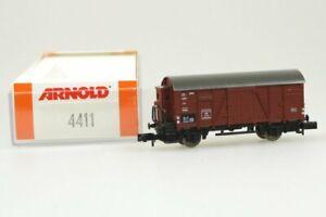 Arnold-4411-Gedeckter-Gueterwagen-der-DB-neu-in-Originalverpackung