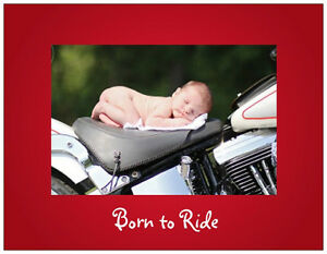 20-MOTORCYCLE-Harley-BABY-SHOWER-Postcards-or-Flat-Cards-Env-Invitations