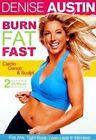 Denise Austin Burn Fat Fast Cardio Dance and Sculpt LG Region 1 DVD