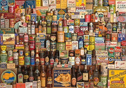 Gibsons The Brands that Build Britain Jigsaw Puzzle 1000-Piece