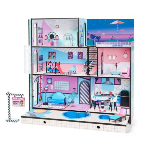 Surprises LOL Surprise Dolls Real Wood Doll Play House w// 85 L.O.L Surprise
