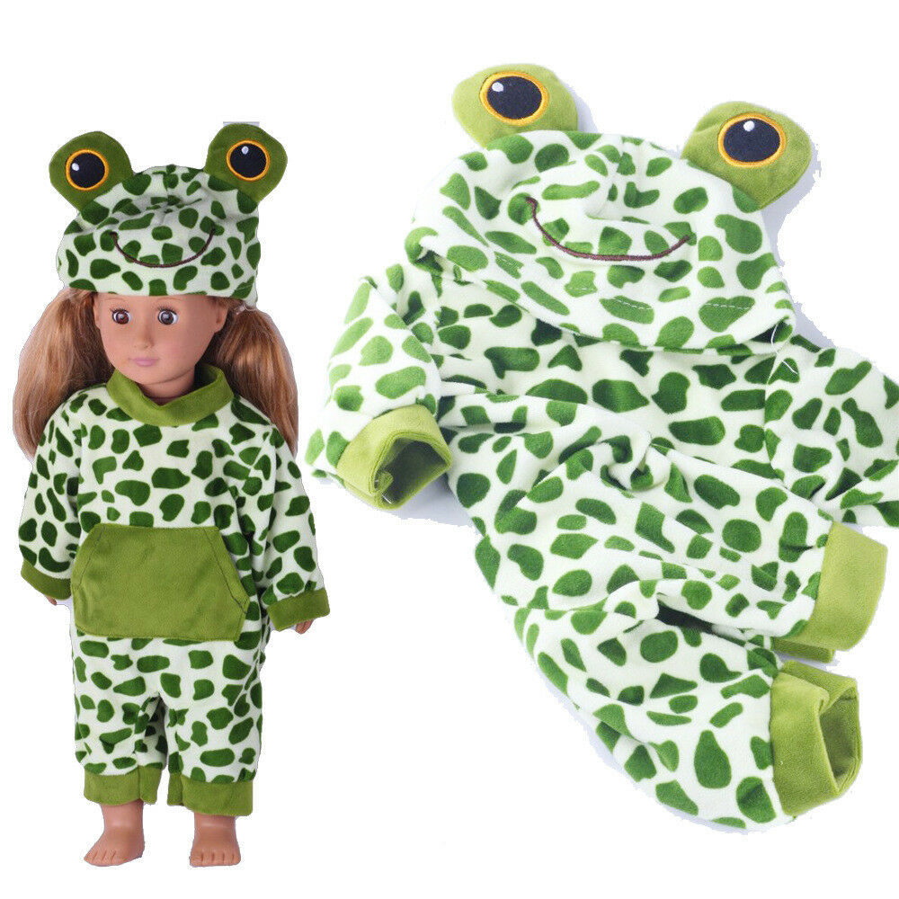 Baby Born Doll Clothes Fit 17inch Zapf Dolls Sleeping Jumpsuit Suit Doll Pajamas 4