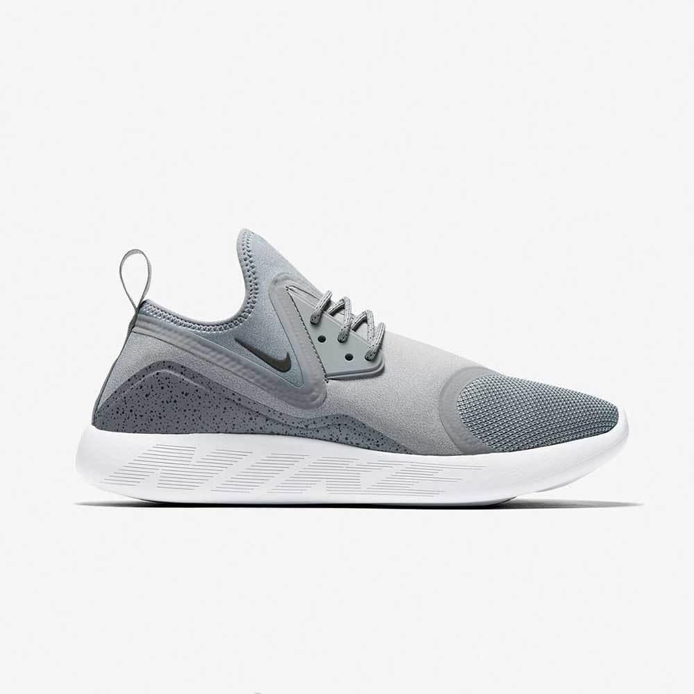 Nike LunarCharge Essential Herren Schuhe Sportschuhe Laufschuh Sneaker Grau Weiß