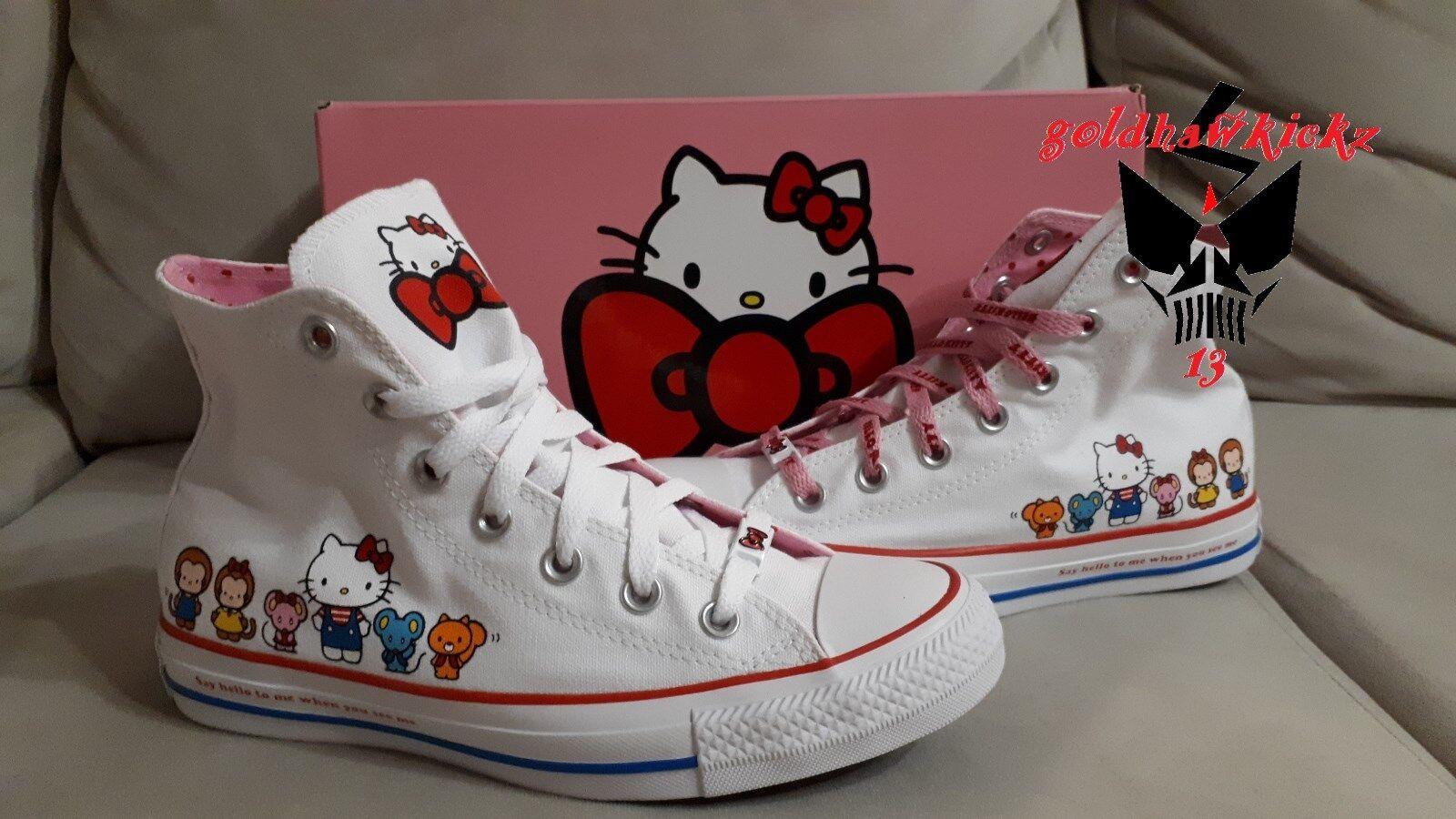 Hello Kitty Converse Chuck Taylor All Star 162944C Mujeres Zapatos Zapatos Zapatos Tenis Sanrio Jp  aquí tiene la última