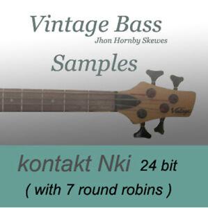 VINTAGE-BASS-Jhon-Hornby-Scewes-SAMPLES-7-ROUND-ROBINS-Kontakt-NKI-gt-hear-demo