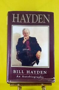 Hayden-an-Autobiography-by-Bill-Hayden-good-used-condition-hardback-dust-jacket