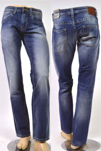 PEPE Jeans Kingston n56 Regular Fit mezzi BLU 100/% COTONE 30//31//32//34//38