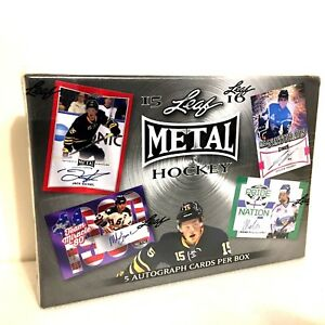 2015-16-Leaf-Metal-Hockey-Sealed-Hobby-Box-5-Refractor-Autos-Team-Miracle-80