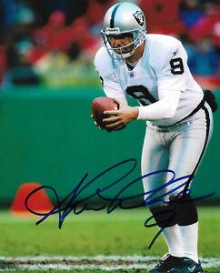 Shane-Lechler-Signed-8x10-Photo-Oakland-Raiders-NFL-COA-Autographed