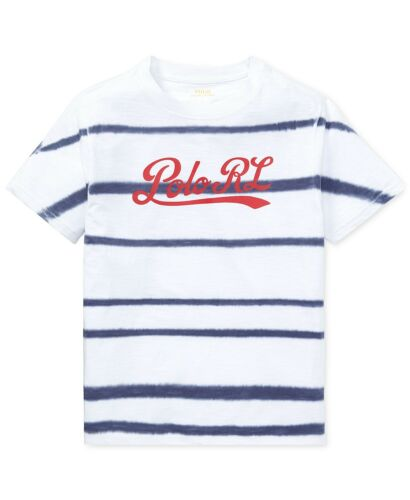 New Polo Ralph Lauren Cotton Graphic Print Short Sleeves Shirt MSRP $25 $27.50