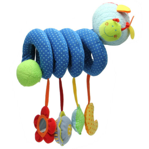 Baby Activity Spiral Stroller Car Seat Travel Lathe Hanging Toys Rattles Toy Hot