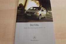 134516) Mercedes Vito - Kombi - Personentransporter - Prospekt 01/2000