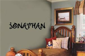 Graffiti-Custom-Name-Wall-Decal-Vinyl-Sticker-Letter