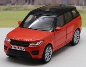 PERSONALISED PLATES Range Rover Sport Model Boys Dad Mum Toy Car Present Gift