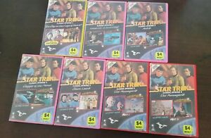 7-Original-VHS-Ex-Rentals-Star-Trek-Episodes-1-6-ep6-part-1-amp-2-Very-RARE-1966