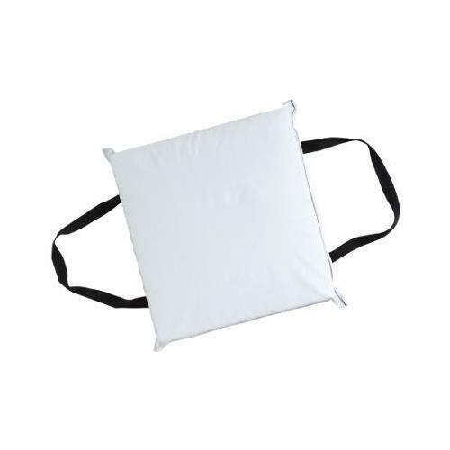 Kent Deluxe Coast Guard Approved Type IV Throwable PFD White Seat Throw Cushion