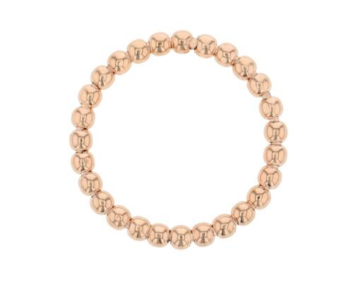 Damenring Kugelring Kugel Ring Fingerring 585 Gold Schmuck in Rosegold 2935