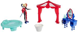 Mattel DC Super Hero Girls Harley Quinn Bedroom Set FCD20