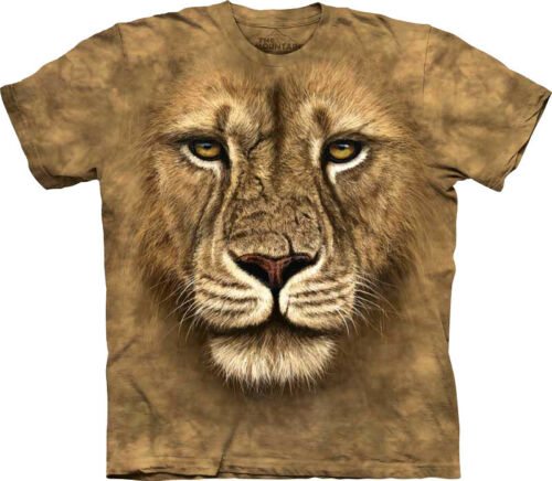 The Mountain Men/'s Lion Warrior T-shirt Tee New Officially Licensed