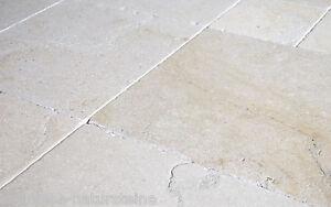 X Fliese Kalkstein Salem Mix Muster X Cm Römischer Verband - Fliesenverband muster