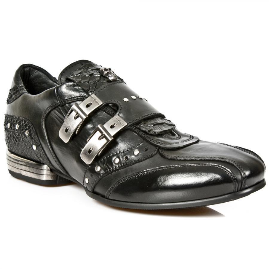 Zapato Hombre tacón acero NEW ROCK ORIGINAL M.2715-S3