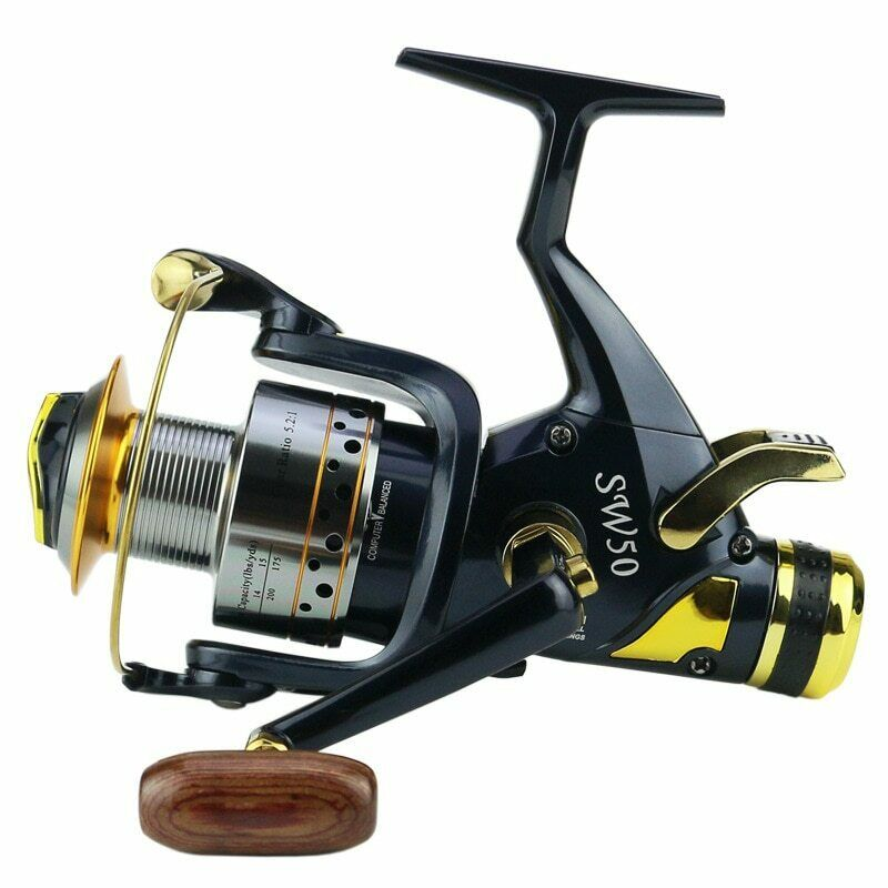 YUYU Metal Fishing reel Spinning 5.2 1 9+1 BB Double brake Drag reel 5000 6000