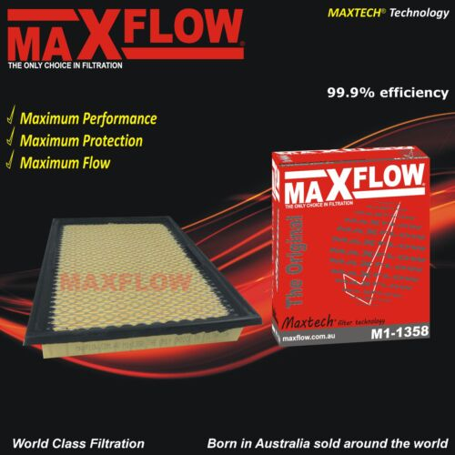 Fit Ryco A1358 Air Filter Holden Commodore VY Petrol V6 3.8L VH Maxflow® Berlina