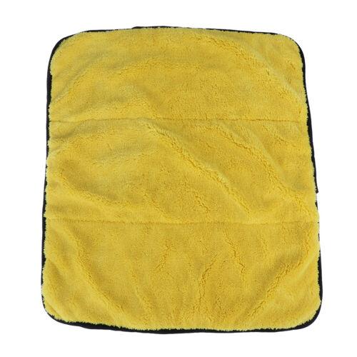45cmx38cm Microfiber Super Thick Plush Car Cleaning Drying Cloths Towel PolishRF