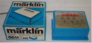 Märklin 6611 Lichttrafo Transformator 40 VA für Beleuchtung; geprüft; in OVP!