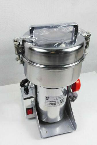 500g High Speed Grain Grinder Electric Herb Cereal Mill Flour Powder Machine NEW