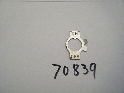 1130G GUIDE BAR ADJUSTER LOCK NUT P//N 81123 HOMELITE NEW SUPER 1050