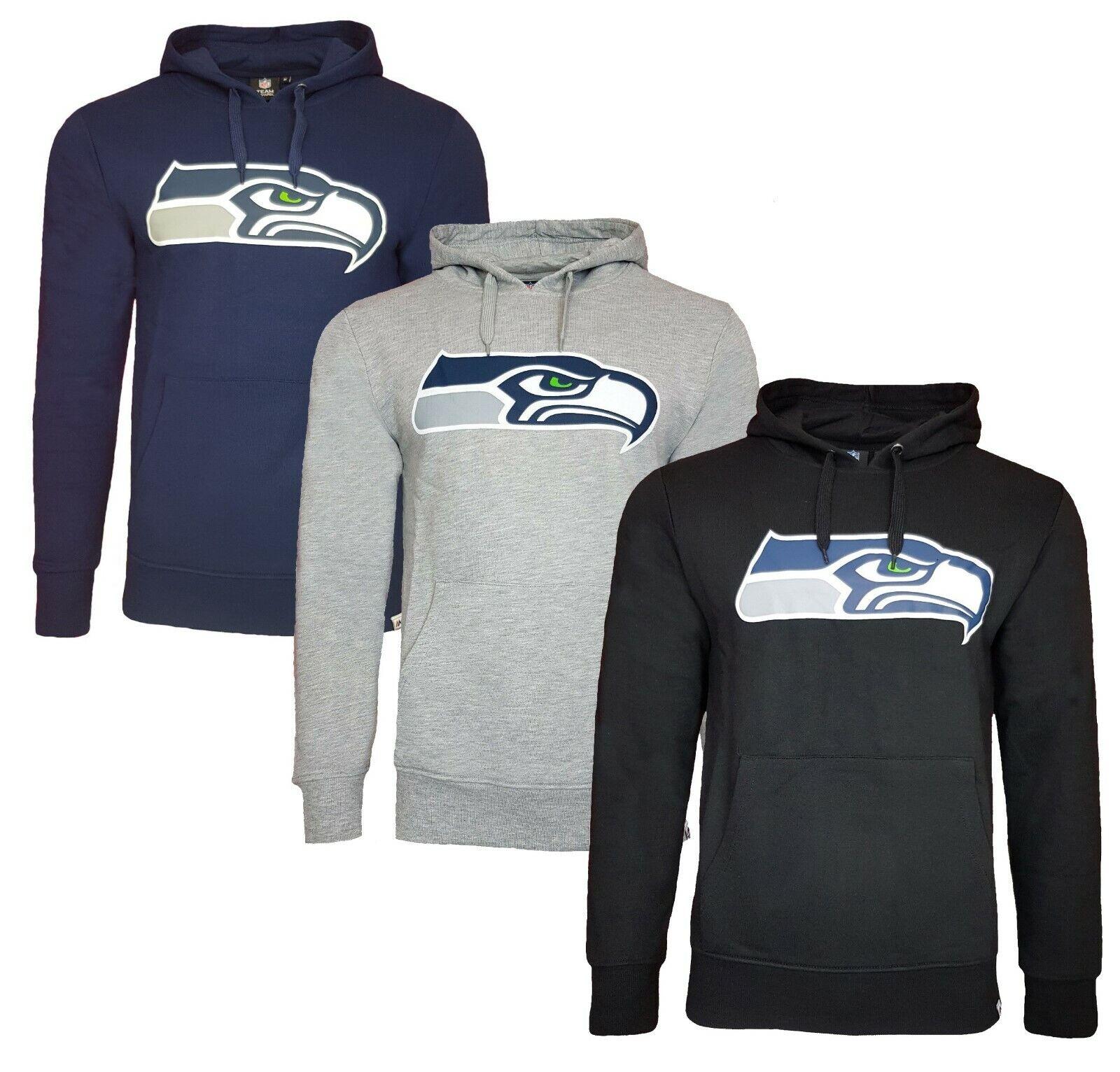 NFL Seattle Seahawks Hoodie Mens S or M American Football Hooded Top