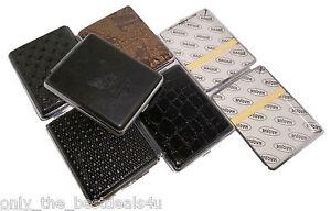 Surtido-Cuero-Caja-Cigarrillos-Soporte-Cromado-Metalico-Caja-Build-Mediano