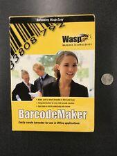 Wasp Fast Startsilver Partners 633808105167 Wasp Barcodemaker Single Pc