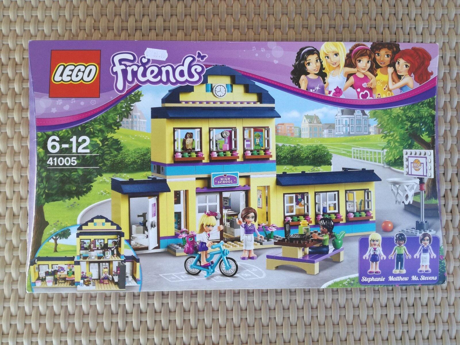 Lego Friends Heartlake High School 41005 NIB - Box And Instructions