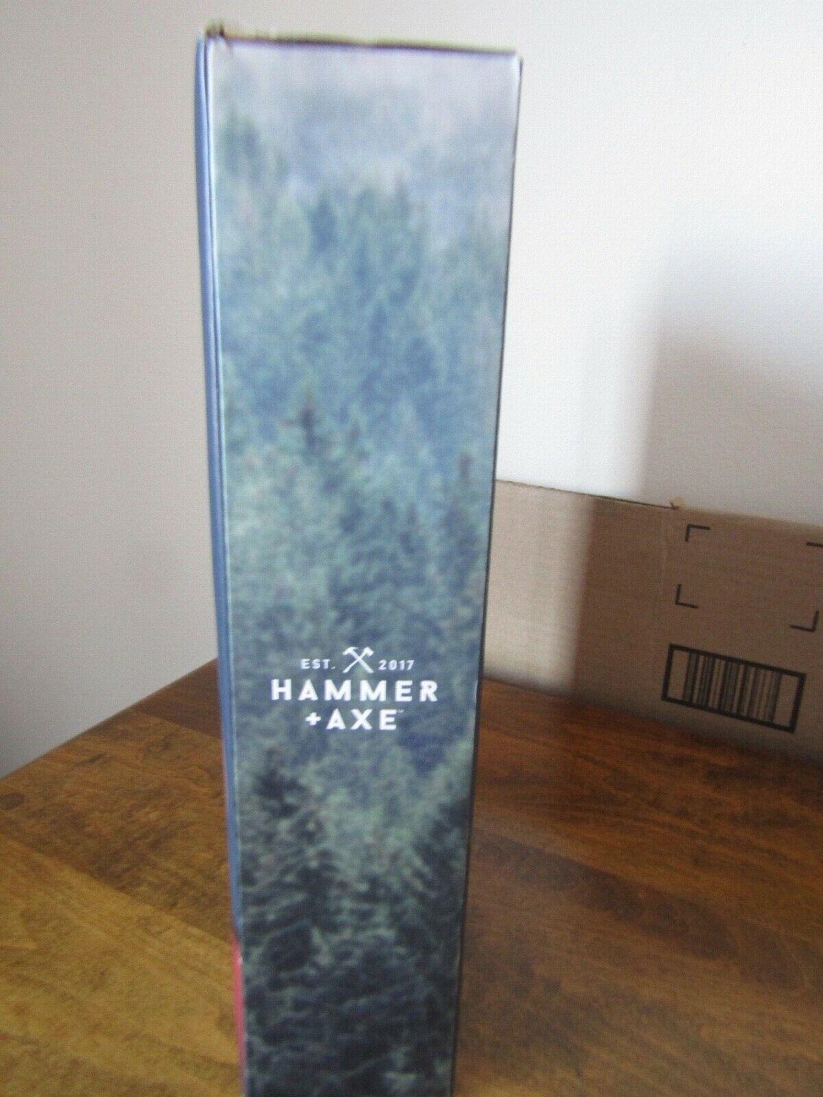 Hammer Axe BackTrail Bottle Opener Mount Whitetail Deer Man Cave Decor NIP