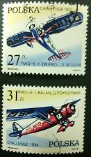 POLAND STAMPS 1Fi2658-59 Sc2515-16 Mi2806-07 -Victory of Challenge,1982, used