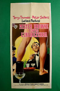 L11 Plakat Mister Browne Gegen L'England Terry Thomas Peter Sellers Selten