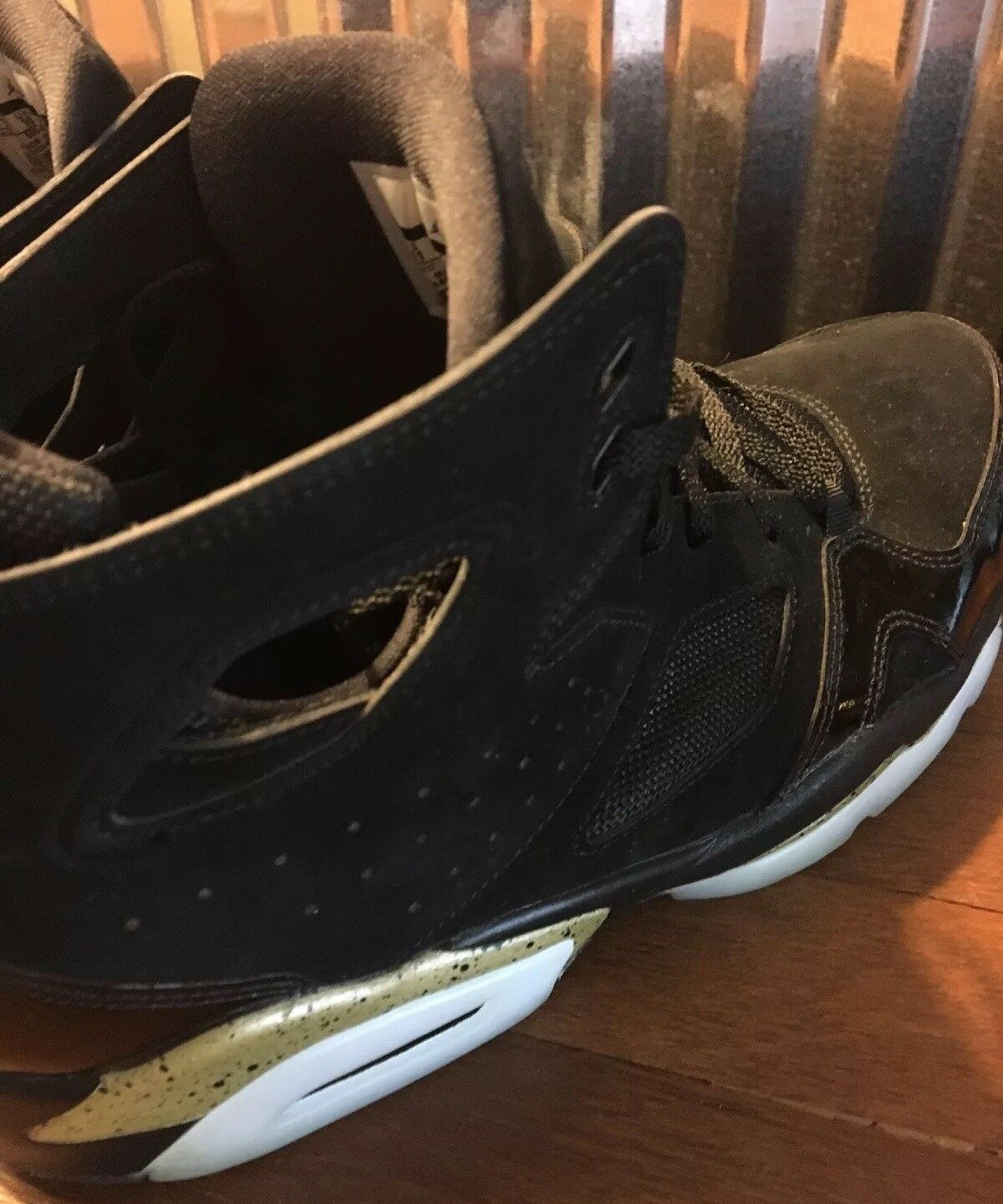 01397c4a31 ... 2017 Nike Air Jordan Black gold Size Size Size 11 Only Wore Once 27dc6c  ...