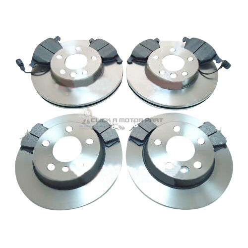 VW SHARAN 1.9 TD TDI 1995-2000 FRONT AND REAR BRAKE DISCS AND PADS SET NEW
