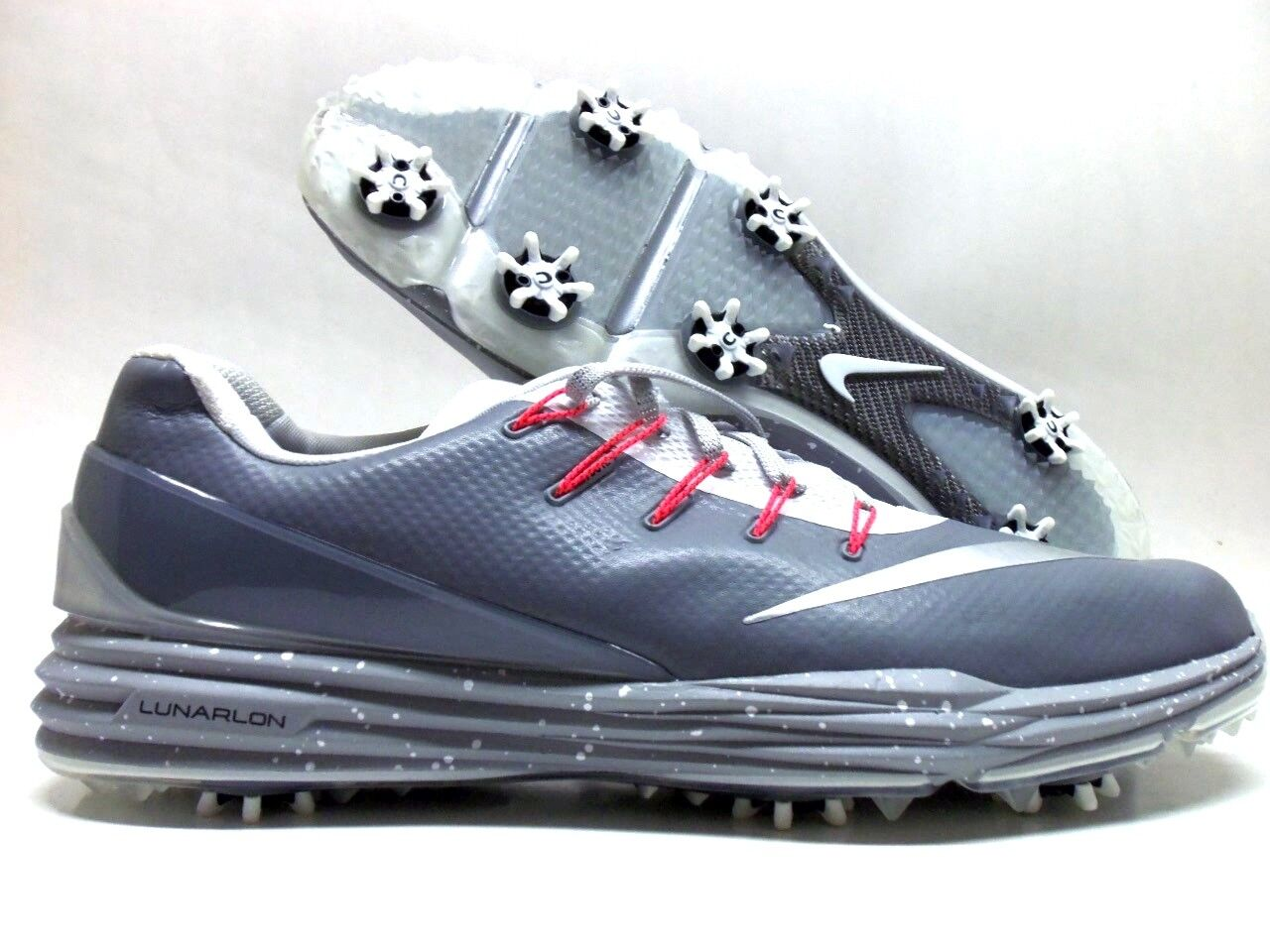 NIKE LUNAR CONTROL 4 ID GOLF CLEAT GREY/SILVER-WHITE SIZE MEN'S 12 Price reduction The most popular shoes for men and women