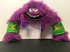 Disney Store Pixar 13 Plyushevaya Monsters Inc University Art Fioletovyj Monster Novye Ebay