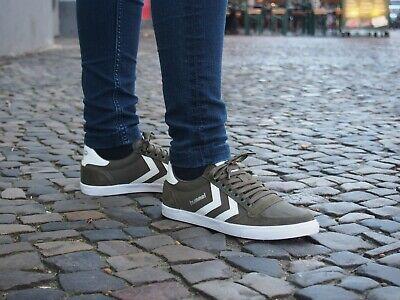 Hummel Slimmer Stadil High Unisex Sneaker Schuhe Turnschuhe grün 063511 6453 WOW