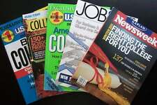 Best Colleges & Careers Educational Magazine Lot - Research Info